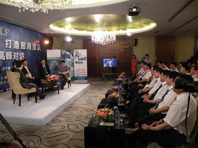 孙殿高介绍了廊坊民营企业发展状况
